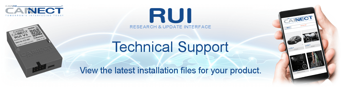 CANNECT RUI System - Technical Support