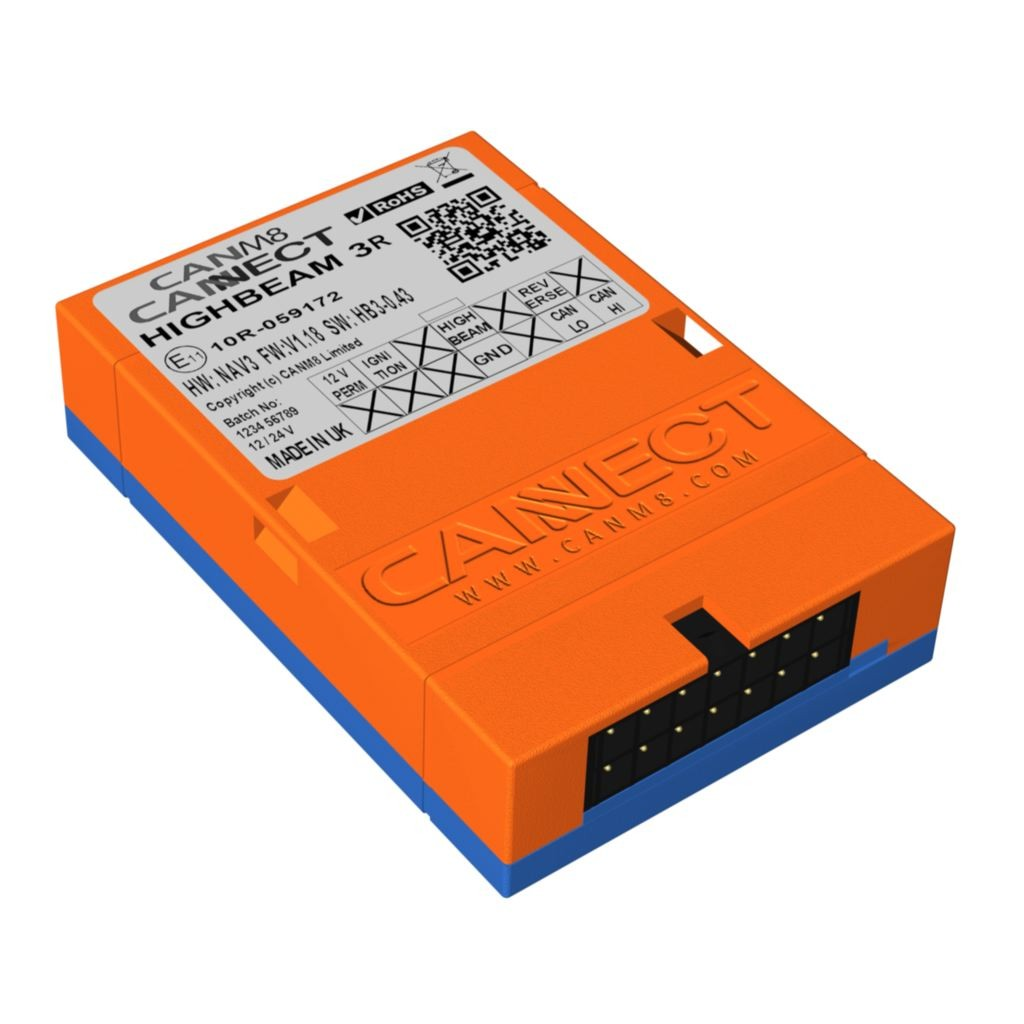 CAN Bus High Beam Interface - CANM8 CANNECT HIGHBEAM-3R