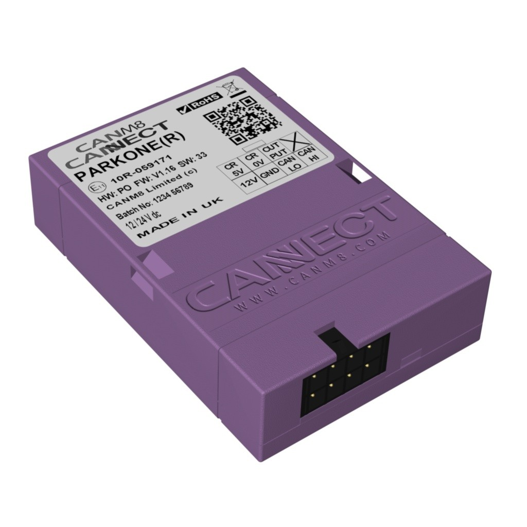 CAN Bus Parking Sensor Interface - CANM8 CANNECT PARK ONE (R)