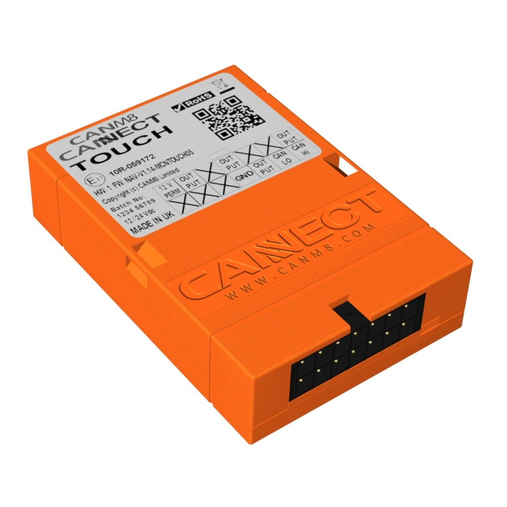 CAN Bus Steering Controls Interface - CANM8 CANNECT TOUCH