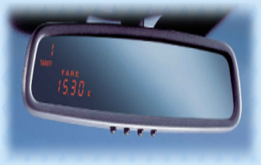 Taximeter Mirror