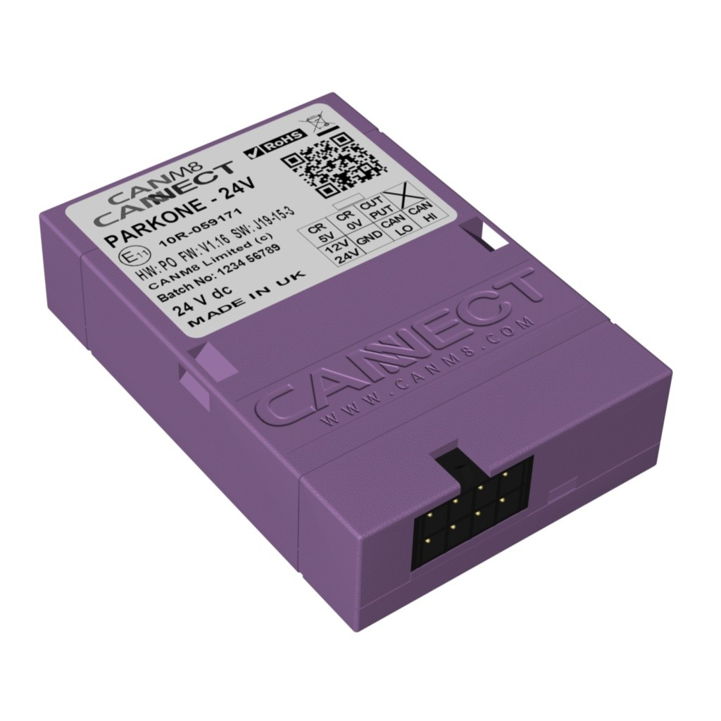 CAN Bus Parking Sensor Interface - CANM8 CANNECT PARK ONE (24V)