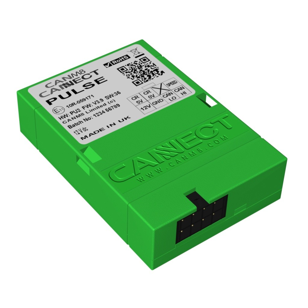 CAN Bus Speed Pulse Interface - CANM8 CANNECT PULSE
